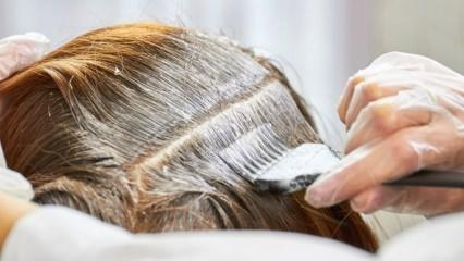 Saç boyasının zararları nelerdir? Üst üste saç boyamanın zararları