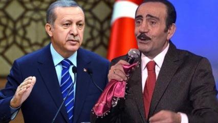 Mustafa Keser'den Başkan Erdoğan'a övgü dolu sözler!
