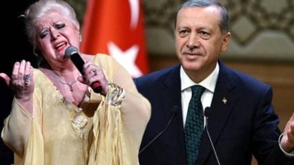 Neşe Karaböcek'ten Başkan Erdoğan'a övgü dolu sözler