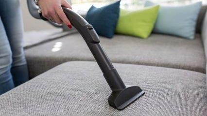 Tay tüyü koltuklar nasıl temizlenir?