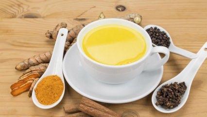 Enerji deposu: Altın sütünün faydaları nelerdir? Altın sütü nedir? Altın sütü nasıl yapılır?