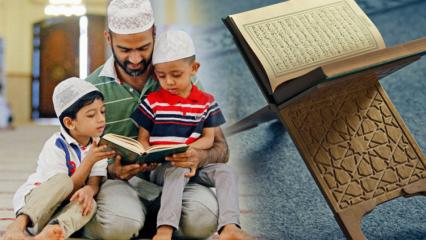 Çocuklara Namaz ile Kuran nasıl öğretilir? Kurana ve namaza alıştırmak için...