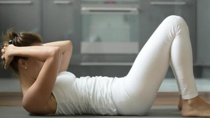Göbek en hızlı ve kolay nasıl eritilir? En etkili göbek eritme hareketleri