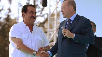 İbrahim Tatlıses'ten Başkan Erdoğan paylaşımı!
