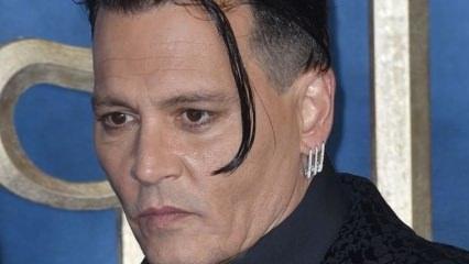 Johnny Depp'in son hali hayranlarını şaşırttı