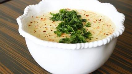 Sütlü buğday çorbası nasıl yapılır?