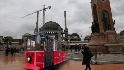 Taksim Camii 2 bin 500 kişiyi bekliyor