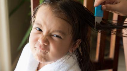 Karışan saçlar nasıl kolay taranır?