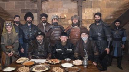 Çeçenistan lideri Diriliş'in setinde!