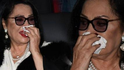 Türkan Şoray gözyaşlarına boğuldu