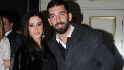 Arda Turan'dan eşi Aslıhan Doğan'a dudak uçuklatan hediye!