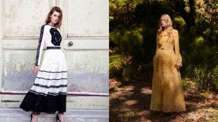 İlkbahar davetlerinde giyilebilen detaylı kıyafetler