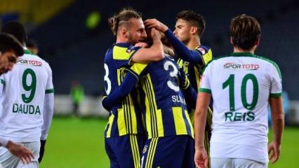 Fenerbahçe avantajı kaptı!