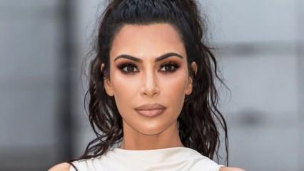 Kim Kardashian öyle bir şey giydi ki...