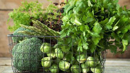 Hangi yeşil sebzeler kilo verdirir?