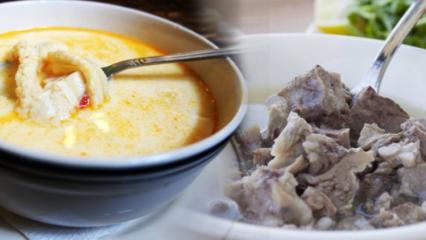 En kolay terbiyeli işkembe çorbası nasıl yapılır? İşkembe pişirmenin kolay yolları