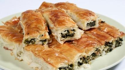 Karbonatlı pratik börek tarifi
