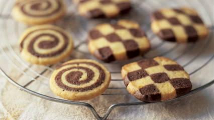 Kolay ev yapımı rulo kurabiye tarifi