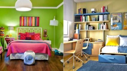 Çocuk odaları için 2019 yılına özel fikirler