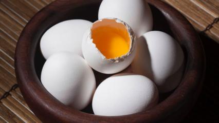 Çiğ yumurta içmenin faydaları nelerdir? Haftada bir çiğ yumurta içerseniz...