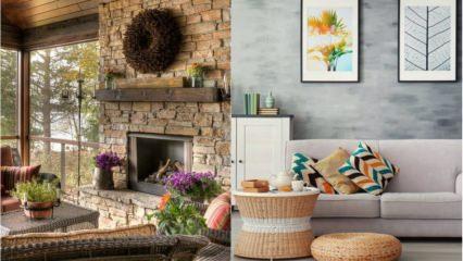 Günlük stresinizi azaltacak ev dekorasyonları