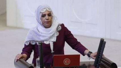 Evlat nöbetindeki annelere hakaret eden HDP'li Tosun hakkında soruşturma