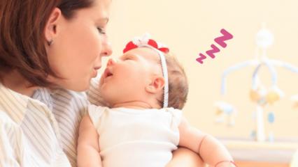 Çabuk uyutan ve rahatlatan en güzel bebek ninnileri! Bebekleri mışıl mışıl uyutan ninni listesi
