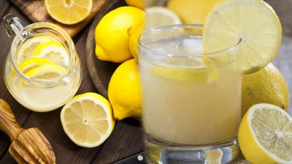 Limon suyunun faydaları nelerdir? Düzenli olarak limonlu su içersek...