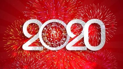 2020 Yılbaşı mesajları ve yeni yıl sözleri! Resimli kısa ve uzun yılbaşı paylaşımları