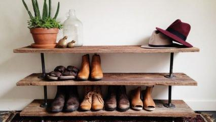 Ayakkabılık dekorasyonu
