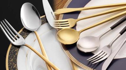 Davet sofrası nasıl hazırlanır? Masaya kaşık çatal bıçak nasıl konur?