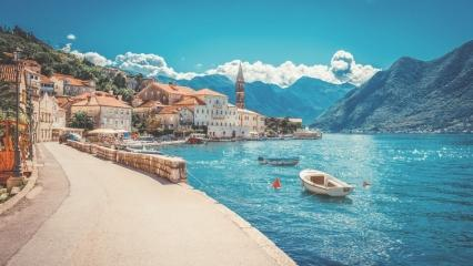 Montenegro nerede? Sefirin Kızı nerede çekiliyor? Montenegro-Karadağ'a nasıl gidilir?