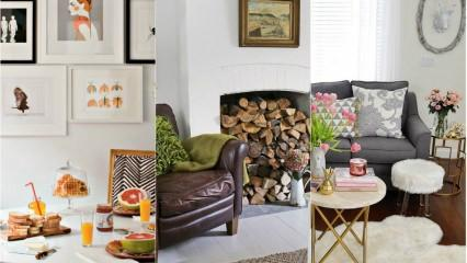 Konforlu ev dekorasyonu için öneriler