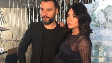 Buse Varol ve Alişan 'Baby Shower' yaptı!