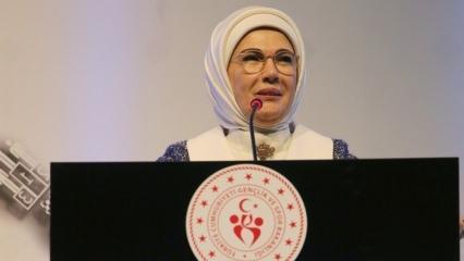 Emine Erdoğan 'Sporla Kal Güvende Kal' projesi için konuştu