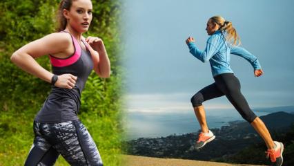 Yürümek mi daha çabuk zayıflatıyor koşmak mı?