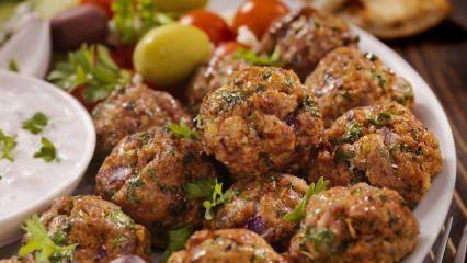Leziz Kıbrıs köftesi nasıl yapılır?