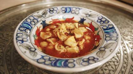 En kolay yüksük çorbası nasıl yapılır? Yüksük çorbası tarifi