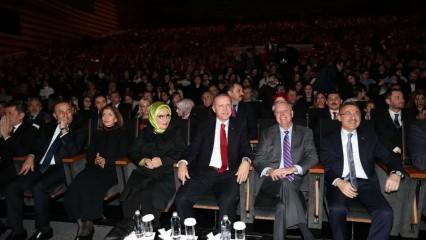 Başkan Erdoğan ve Emine Erdoğan Fazıl Say konserine katıldı