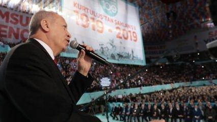 Erdoğan'dan sert sözler: Eline diline dursun!