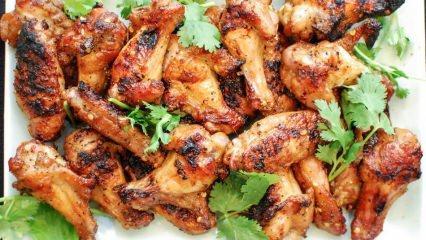 Kanat nasıl pişirilir? En kolay fırında soslu kanat tarifi