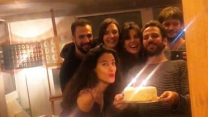 Erkan Kolçak Köstengil'den eşi Cansu Tosun'a sürpriz doğum günü