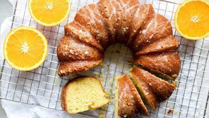 Pratik portakallı kek nasıl yapılır?