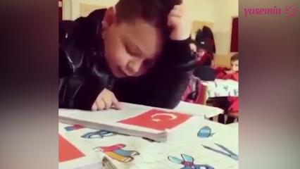 Trabzonlu çocuk İstiklal Marşı okursa!