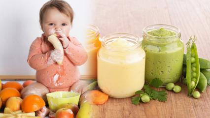 Bebekler ek gıdaya nasıl başlatılır? Ek gıdaya ne zaman geçilir? Ek gıda beslenme listesi