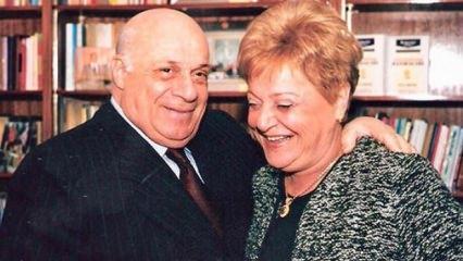 Rauf Denktaş'ın eşi Aydın Denktaş hayatını kaybetti!