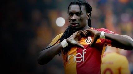Fransız futbolcu Bafetimbi Gomis İstanbul'a aşık oldu!
