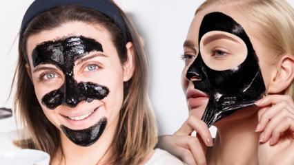 Siyah maskenin faydaları nelerdir? Siyah maske cilde uygulama yöntemi