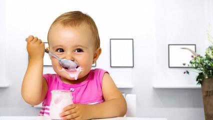Anne sütü ile yoğurt tarifi! Bebekler için pratik yoğurt nasıl yapılır? Yoğurt mayalama...