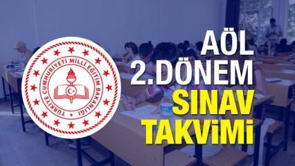 Açık Lise 2.dönem yeni sınav tarihi belli oldu! Sınava girecek öğrenciler...